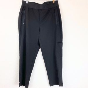 Chico's Zenergy Black Neema Grace Crop Pants 8